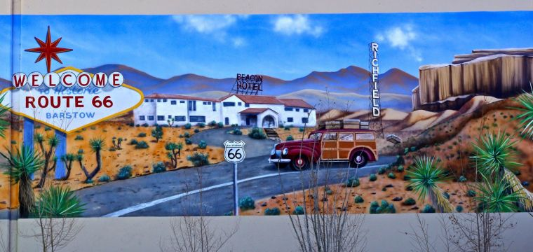 Slide Show Route 66 Murals Across The Country Local