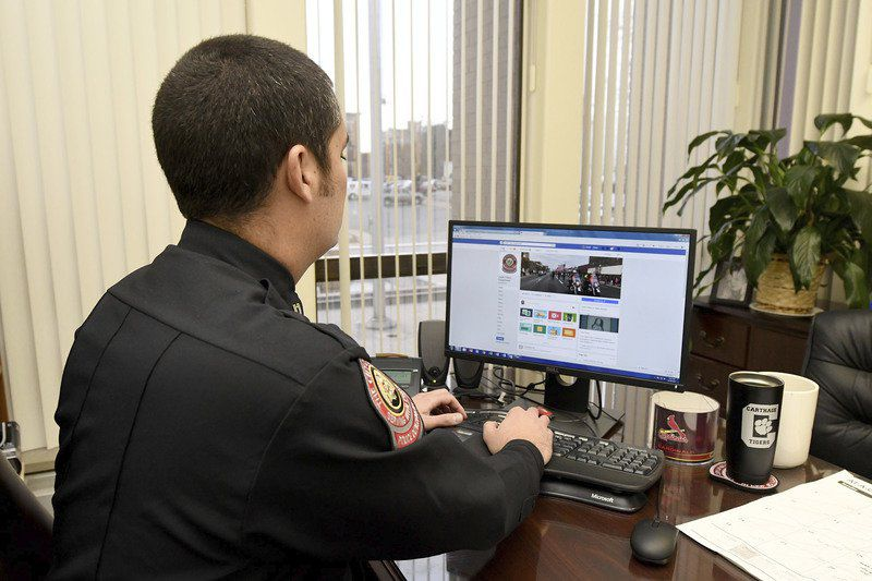 Police take good with bad in social media world