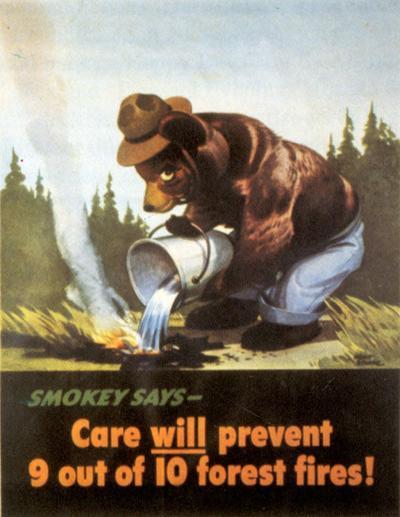 Barely aged: Fort Scott to mark Smokey Bear's 70th birthday