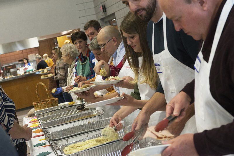 Tradition of racing, serving meals part of Thanksgiving for many