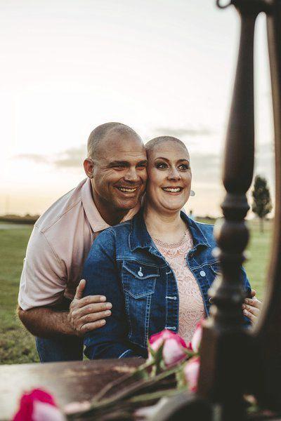 Liberal woman's photo shoot after cancer diagnosis goes viral
