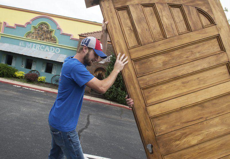 Pocket doors from Schifferdecker house located