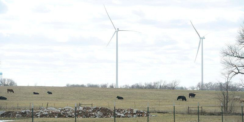 Wind farms nearing completion in Southwest Missouri, Southeast Kansas