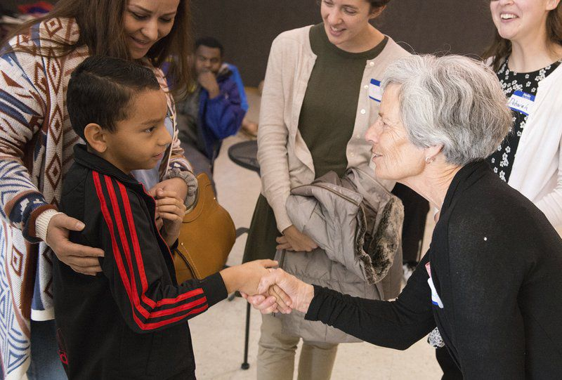 Program teaches immigrants about U.S. language, culture, including holiday tradition