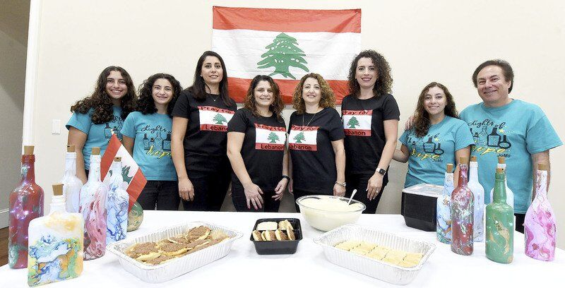 Local Lebanese families combine artistic, culinary talents to aid relief efforts in Beirut