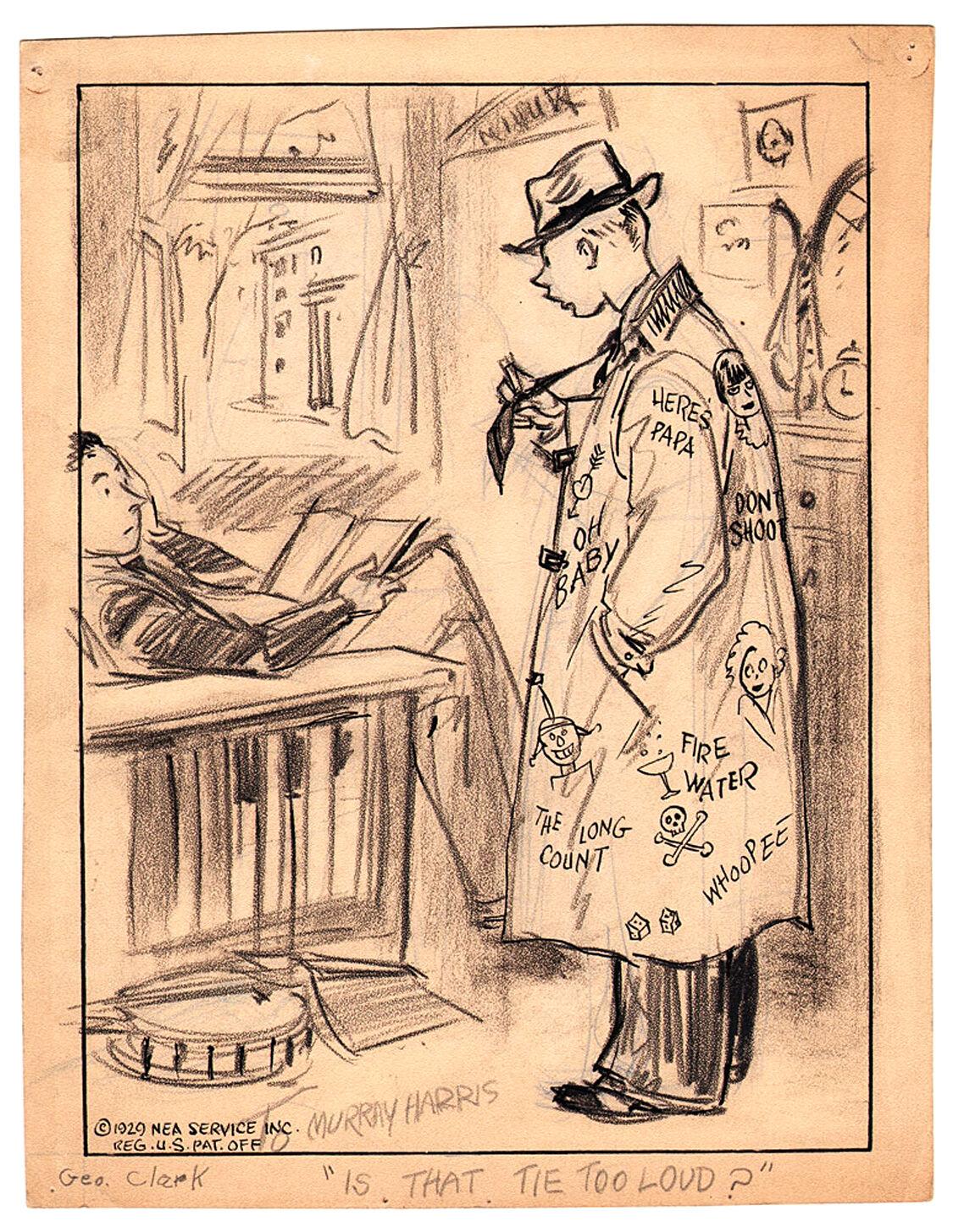 051521 George Clark-Side-Glances-1929-tie
