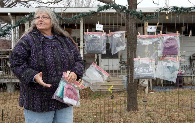 Joplin woman creates crocheted items for anyone in need