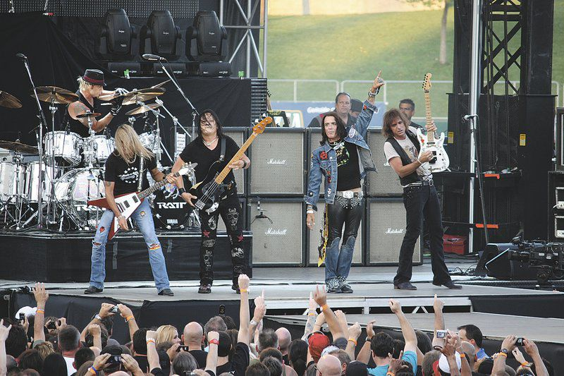 Hair metal pioneer band Ratt visits Buffalo Run