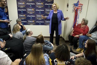 McCaskill makes final push in Southwest Missouri, touts bipartisan record