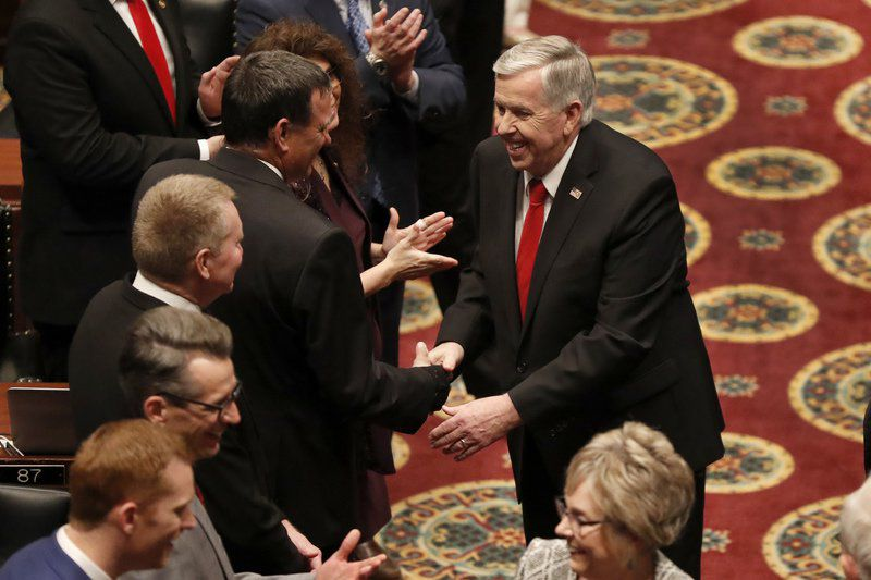Missouri governor pitches plans to address violent crime, more