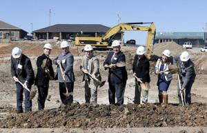 Construction underway on Memorial Hills project
