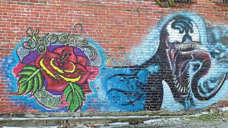 Recognizing Joplin's 'graffiti alley' -- art instead of vandalism