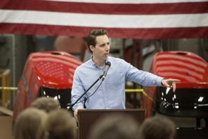 Hawley makes campaign stop in Joplin