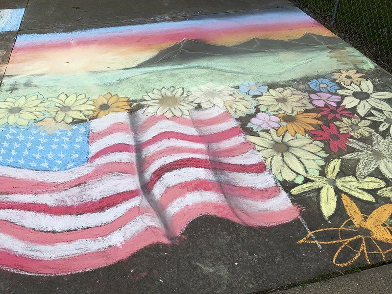 Winners announced in Globe chalk art contest
