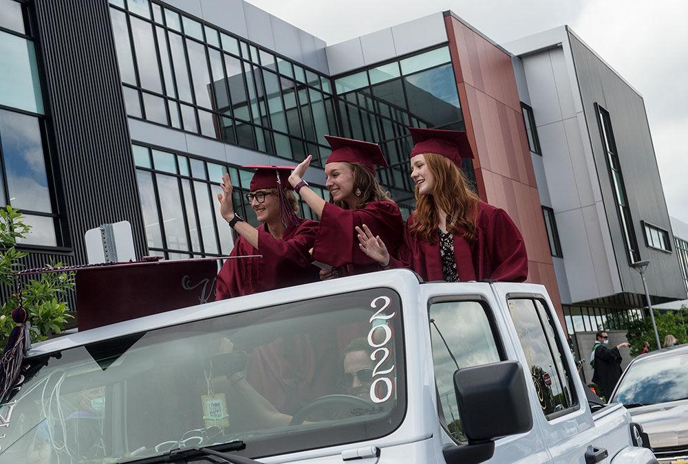 Joplin High Drive-Thru Graduation