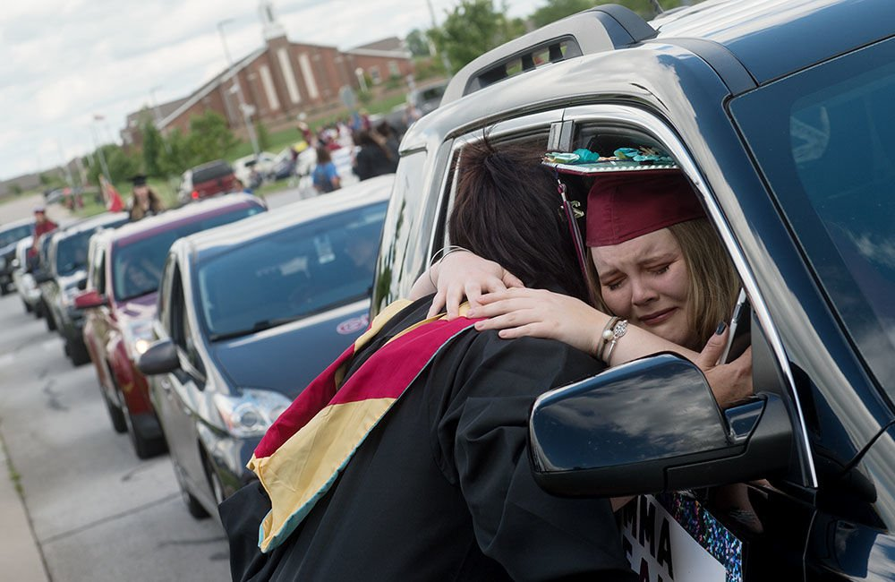 Joplin High Drive-Thru Graduation 2