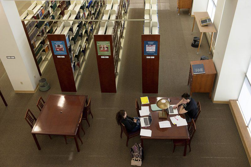 Joplinglobe shelf space university libraries move toward workspaces digital collections sciox Choice Image