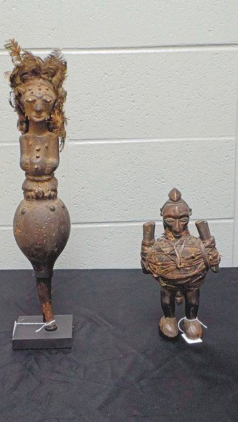 Forgotten African relics cause strange occurrences at MSSU