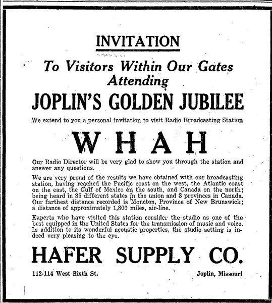 Bill Caldwell: Joplin's Golden Jubilee was a weeklong affair