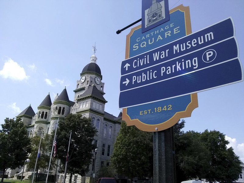 New wayfinding signs in Carthage help direct locals, tourists