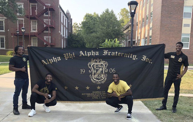 Gamma's back: African-American fraternity reboots at Pittsburg State