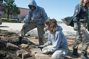 AmeriCorps team assists Eastern Shawnee Tribe in community projects