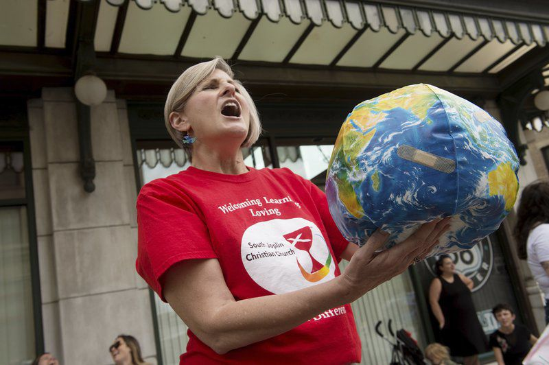 'It is our future': Local residents rally against climate change