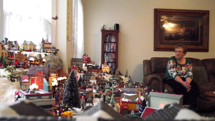Local Couple S Miniature Village A Highlight Of Holiday Season