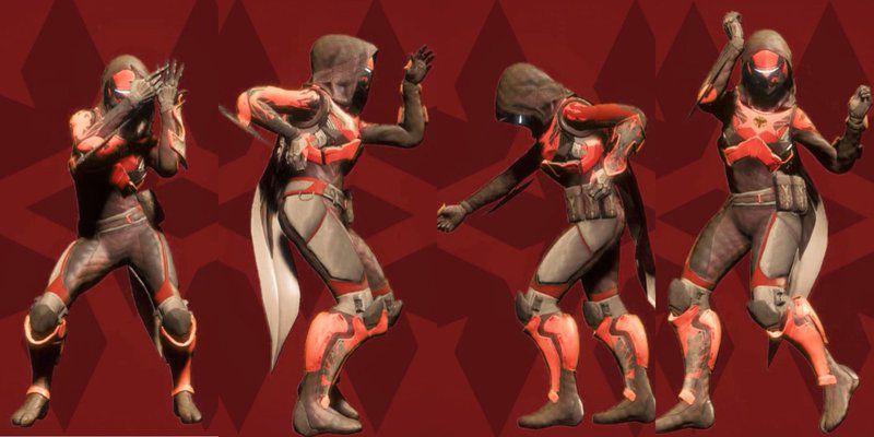 Destiny Dance Gif: Joe Hadsall: Dances In 'Destiny' Illustrate Challenges Of