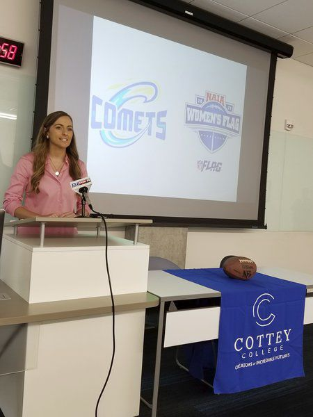Cottey to field NAIA-sanctioned flag football team next spring