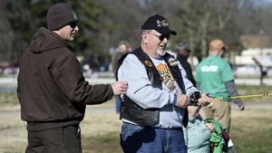 Area veterans enjoy camaraderie at Neosho Fish Hatchery