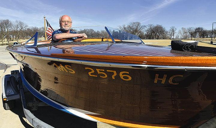 Excellent JFK speedboat to be on permanent display in Shangri-La hotel  OX81