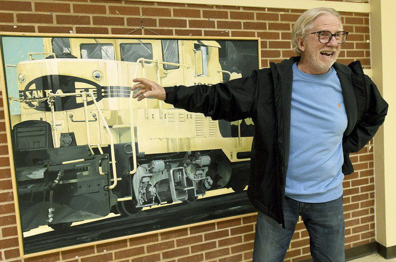 Jim Bray exhibit features paintings inspired by artist's experiences