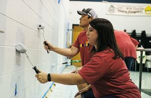 Area volunteers help communities in Day of Action