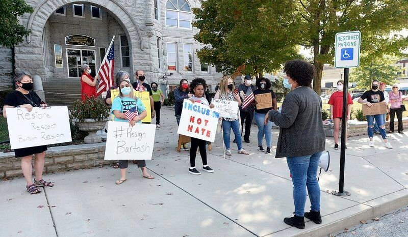 Joplin For Justice protest calls for county official John Bartosh to resign