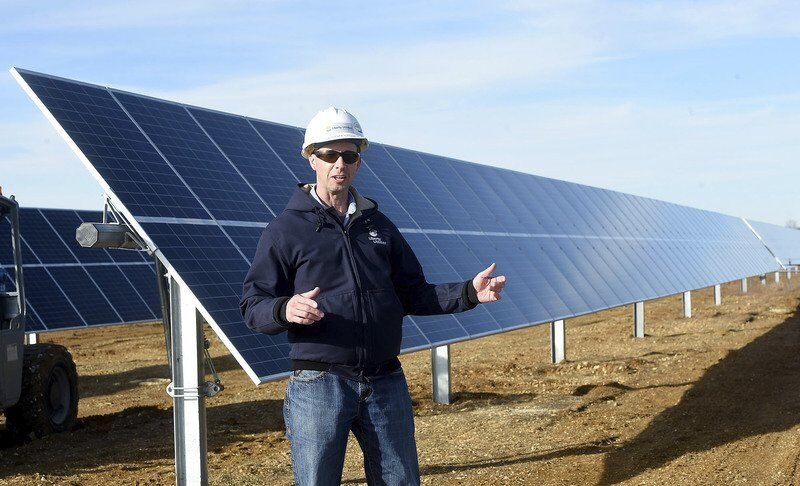 Utilities installing solar power operations in Missouri, Kansas