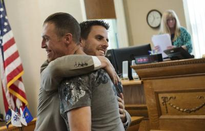Veterans court yields first graduate