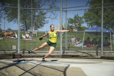 Year-long training helps Buerge become two-time All-American in track and field