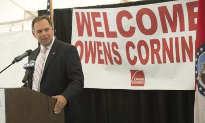 Governor, local officials, welcome Owens Corning division to Joplin