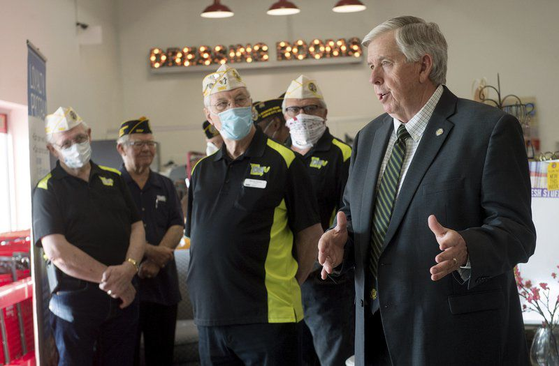 Missouri governor makes stop in Joplin as part of recovery plan tour