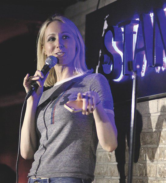 Young female comic catering to new, younger crowd