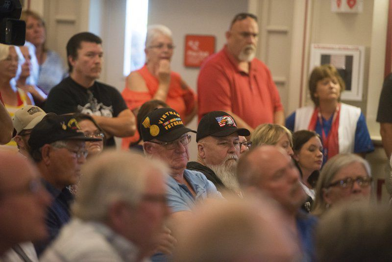 Veterans question VA over report of 'impaired' pathologist at town hall