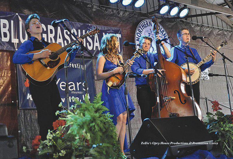 Local bluegrass group wins awards