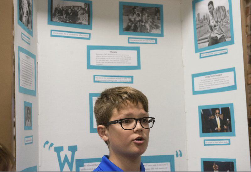 Students 'take a stand' at History Day with Jackie Robinson, suffragettes and other go-getters