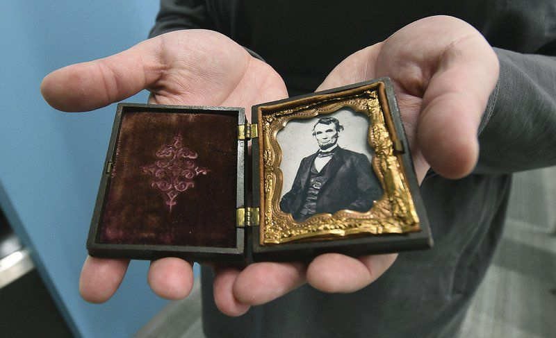 Antique photograph collection on display at Joplin library