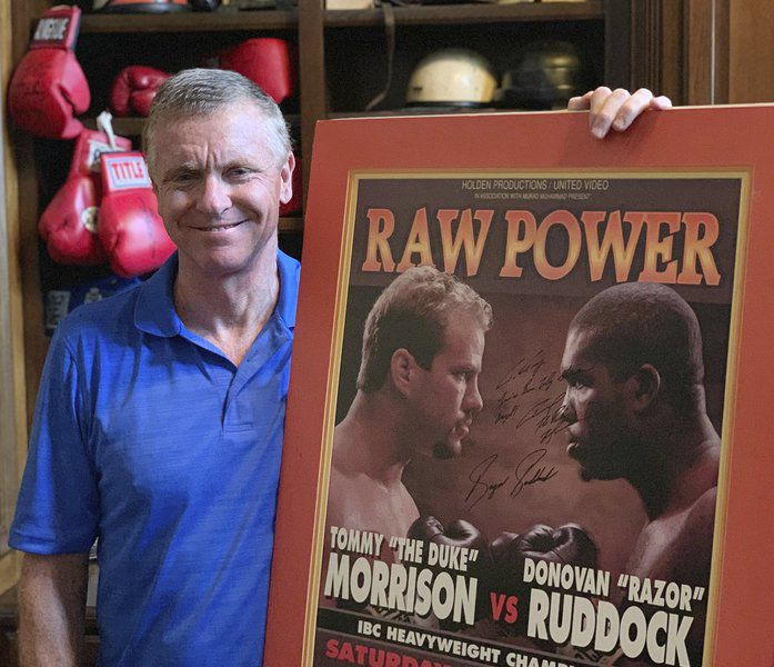 Promoter Tony Holden relives Morrison's TKO over Ruddock 25 years ago