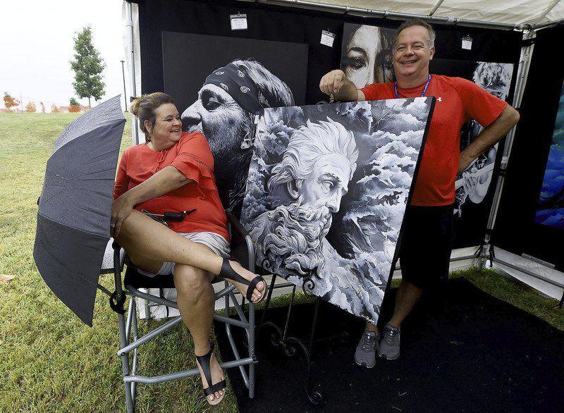 Joplin fest attracts dozens of artists, contributors to bicentennial mural