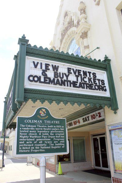 Coleman Theatre turns 90 on Thursday | Lifestyles
