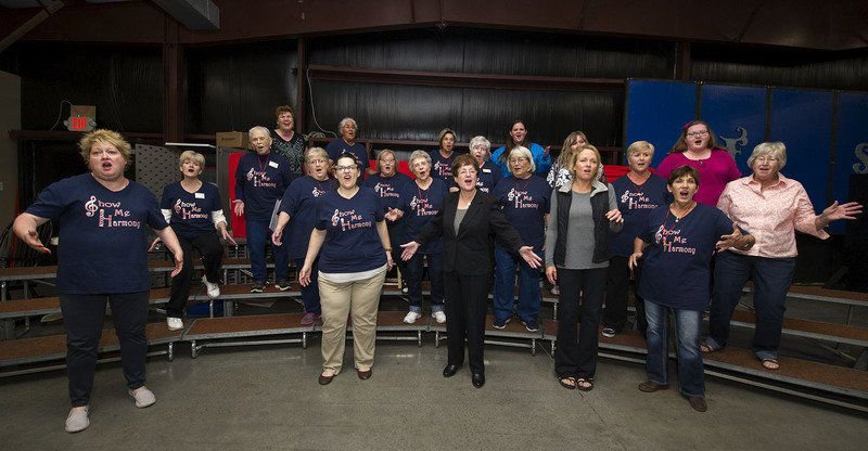 Show-Me Harmony Chorus marks 45 years with OCC performance