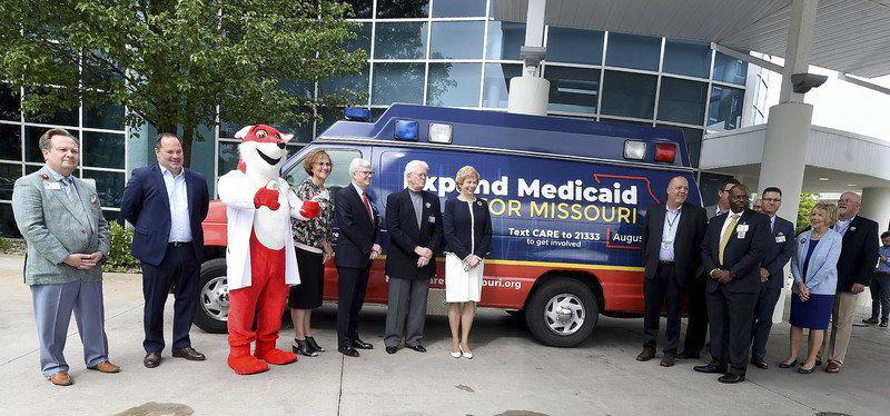 Missouri Medicaid expansion proponents stop in Joplin as part of push